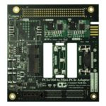 PCI/104-Express to Single/Dual Mini-PCIe (PCI Express Mini Card) Adapter