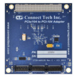 PCIe/104 to PCI-104 Adapter