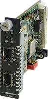 C-10GR-STS Media Converter Module (1G to 10G Fiber and Rate Converters)