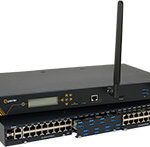 IOLAN SCG LM Secure Console Server with integrated Cellular & Modem (In-Band and Out-of-Band IT Infrastructure Management)