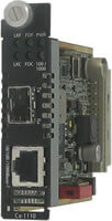 C-1110-SFP Media and Rate Converter Module  (10/100/1000Base-T to 100/1000Base-X Conversion)